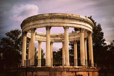 Temple Of The Sky Amphitheater Art Print