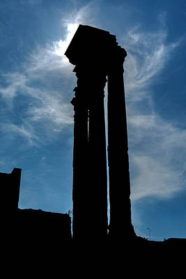 Photograph - Temple Of Venus Genetrix - 2 by Gary Lengyel