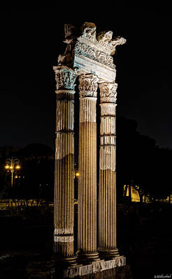 Photograph - Temple Of Venus Genetrix by Weston Westmoreland