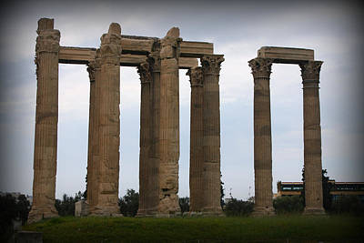 Zeus Photograph - Temple Of Zeus by Kevin Flynn