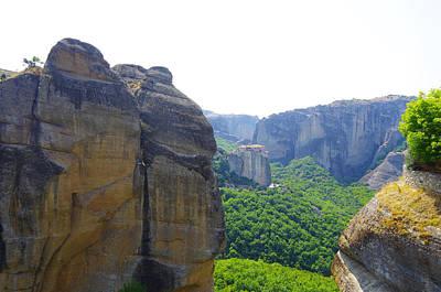 Temple On The Cliffs Original