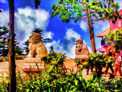 Photograph - Temple On The Top by Rick Bragan