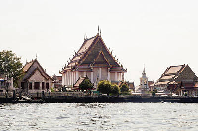 Photograph - Temple On The Water by Mireille Roc