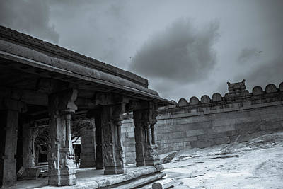 Photograph - Temple Pillars by Ramabhadran Thirupattur