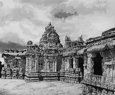 Temple Ruins Art Print by Paul Illian