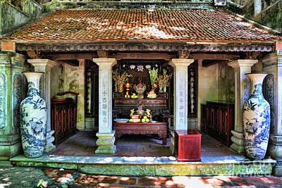Photograph - Temple Tam Coc Vietnam II by Chuck Kuhn