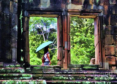 Photograph - Temples Of Cambodia  by Chuck Kuhn