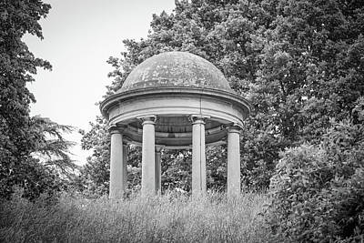 Templetemple Of Aeolus At Kew Botanical Gardens Art Print