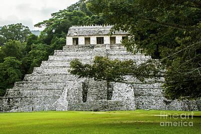 Photograph - Templo De Las Inscripciones by Kathy McClure
