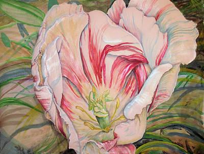 Tempting  Tulip Art Print