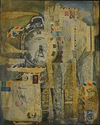 Painting - Tempus Fugit by Jillian Goldberg