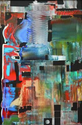Painting - Tempus Fugit by Richard Van Vliet