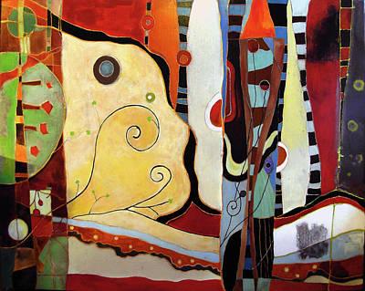 Subterranean Painting - Tempus Hibercum by Lory MacDonald