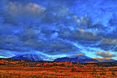 Art Print featuring the photograph Ten Mile Of Fall Colors by Scott Mahon