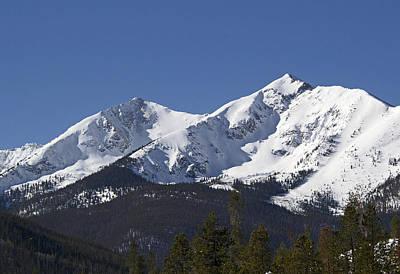 Ten Mile Peak Aka Peak One Colorado Art Print