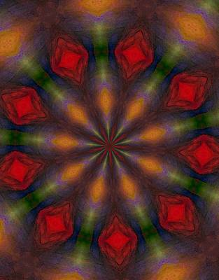 Digital Art - Ten Minute Art 090610-c by David Lane