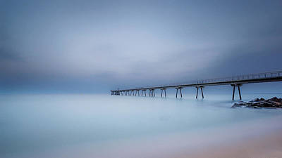 Long Exposure Photograph - Ten Minutes. by Jonathan Bengtsson