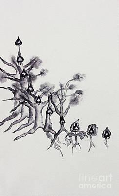 Painting - Ten Of Spades by Srishti Wilhelm