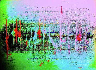 Painting - Ten On The Richter by Roberto Prusso