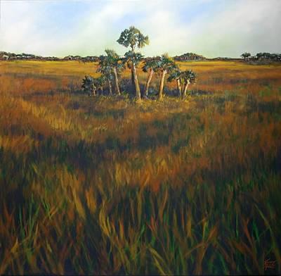 Ten Palms Art Print by Michele Hollister - for Nancy Asbell