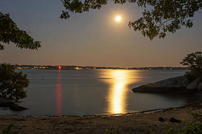 Photograph - Ten Pound Light From Half Moon Beach Gloucester Ma by Toby McGuire