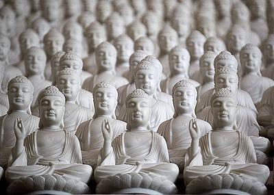 Ten Thousand Buddhas Art Print by Patricia Bolgosano