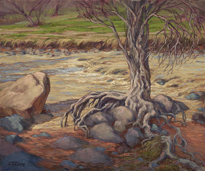 Painting - Tenacity by Jane Thorpe