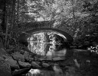 Photograph - Tenaya Creek Bridge - Yosemite by Daniel Hagerman