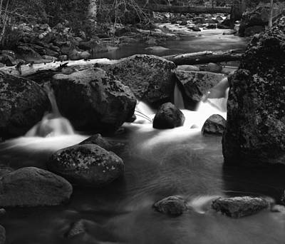 Photograph - Tenaya Creek by Dusty Wynne