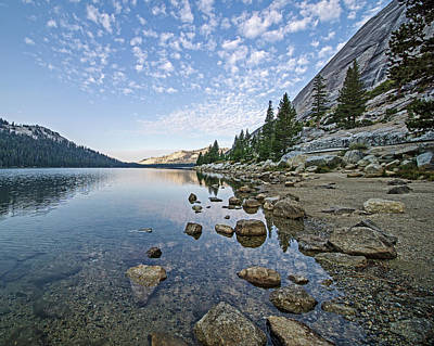 Photograph - Tenaya Lake by Angie Schutt