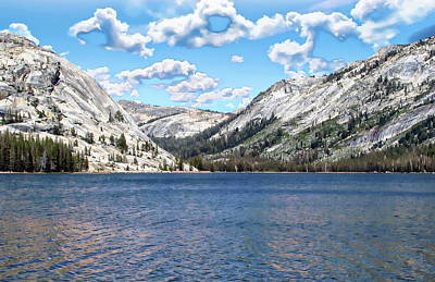 Photograph - Tenaya Lake by Anthony Dezenzio