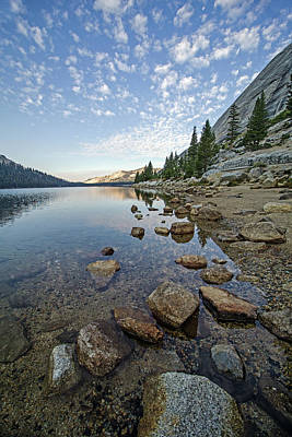 Photograph - Tenaya Lake II by Angie Schutt