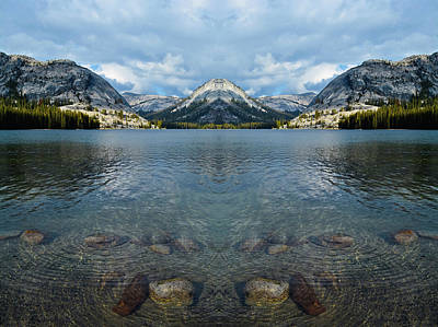 Photograph - Yosemite Tenaya Lake Mirror by Kyle Hanson