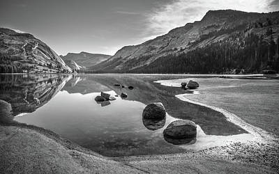Photograph - Tenaya Lake Morning by Alexander Kunz