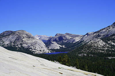 Photograph - Tenaya Lake, Mt. Conness And Pywiak Dome by Dale Matson