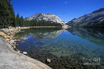 Photograph - Tenaya Lake by Stan and Anne Foster