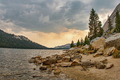 Photograph - Tenaya Lake - Yosemite by Kristia Adams