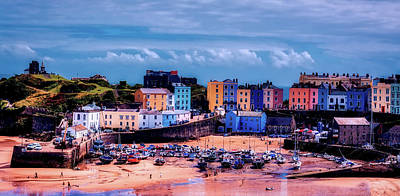 Photograph - Tenby England by Tim Hill