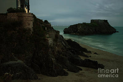 Tenby Photograph - Tenby In The Night by Angel  Tarantella