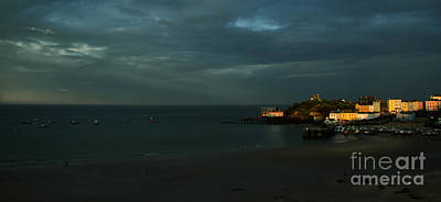 Tenby Photograph - Tenby In The Setting Sun by Angel  Tarantella