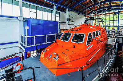 Photograph - Tenby Lifeboat 2 by Steve Purnell