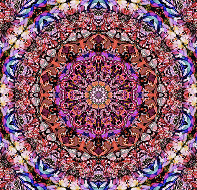 Mixed Media - Tender Moments Mandala by Natalie Holland