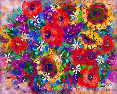Aster Mixed Media - Tender Moments by Natalie Holland