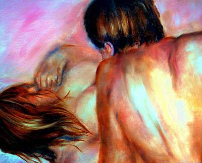 Betrothed Painting - Tender by Sandy Ryan