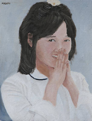 Painting - Tender Smile by Masami Iida