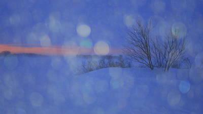Tender Tears Of Winter Art Print