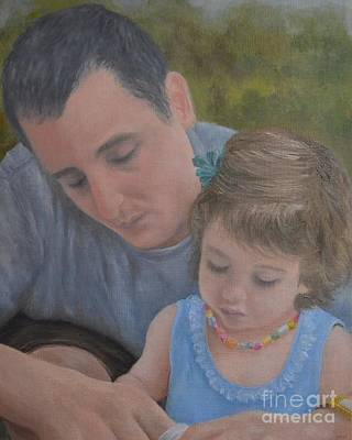 Painting - Tenderness by Michelle Welles