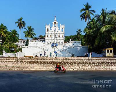 Goa Photograph - Tending The Flock by Vaibhav Sharma