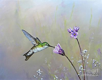 Painting - Tending The Garden by Joe Mandrick
