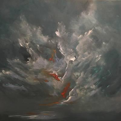 Painting - Tenebrious by Soraya Silvestri